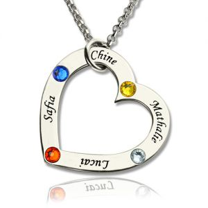 84fd64686f828 Personalized Heart Necklace for Him and Her